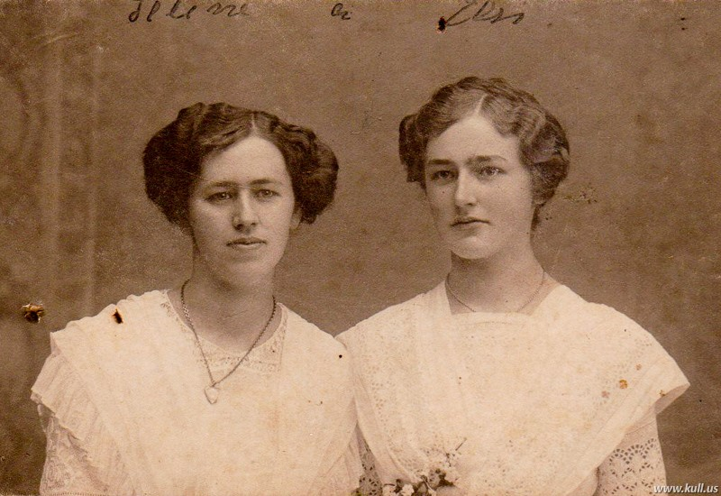 Selina and Elsa Hammerli